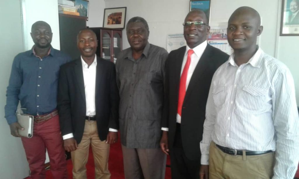 The board of Directors and key management staff of East Africa Entrepreneurs Association (EAEA) on February 2, 2018 paid courtesy visit to Ambassador Julius B. Onen, Permanent Secretary, Ministry of Trade Industry and Cooperatives (MTIC). The meeting was aimed to identify areas of collaboration for the benefit of EAEA membership.