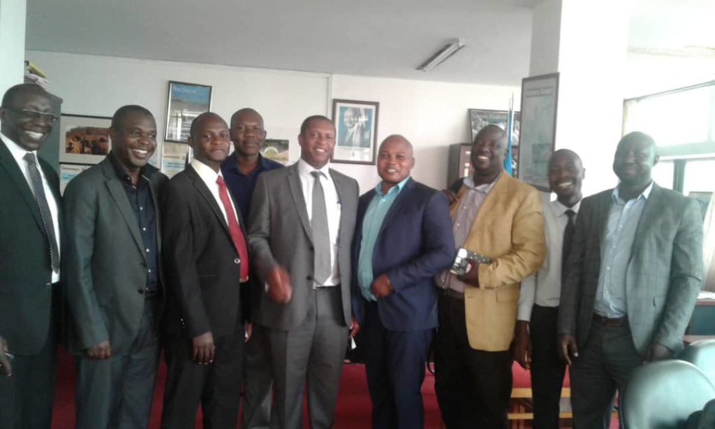The board of Directors and management staff of East Africa Entrepreneurs Association (EAEA) with officials of Ministry of Trade Industry and Cooperatives (MTIC) at MTIC Boardroom, February 2, 2018